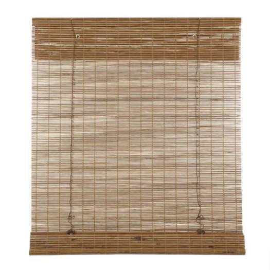 Stores en bois tissé/bambou sans cordon avantage 6995
