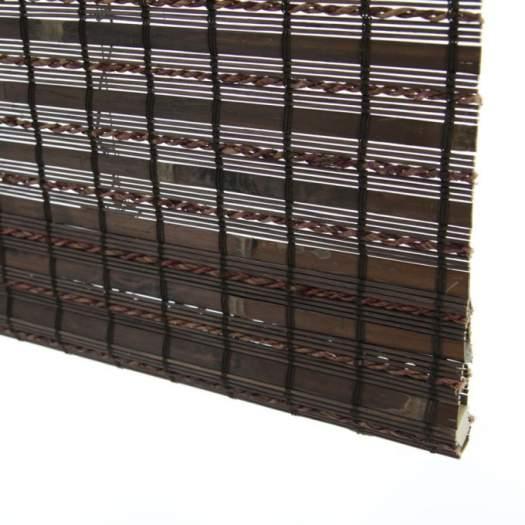 Stores en bois tissé/bambou sans cordon avantage 6997