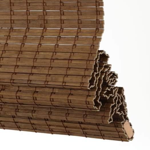 Stores en bois tissé/bambou sans cordon avantage 6994