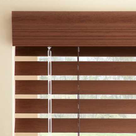 Stores imitation bois de Luxe Plus de 2 po 4560