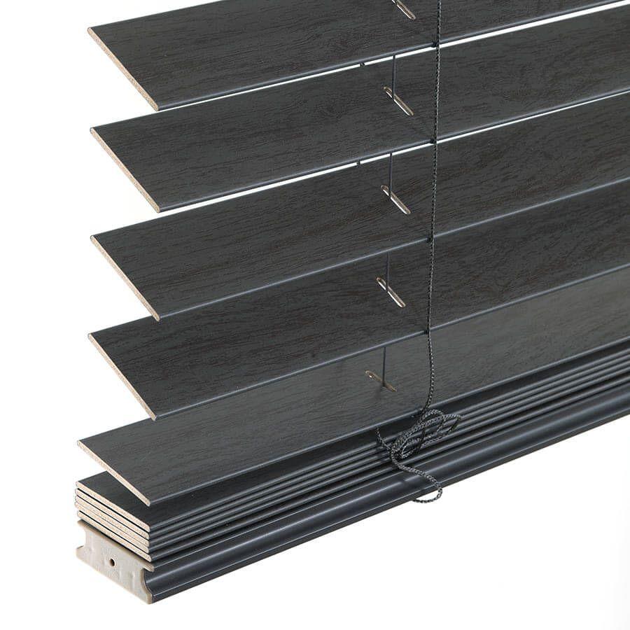 Stores imitation bois sans cordon avantage de 2 po 6950