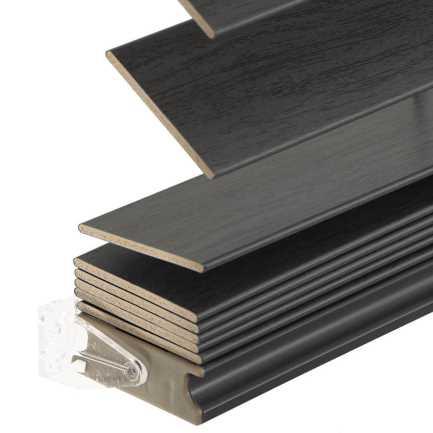 Stores imitation bois sans cordon avantage de 2 po 6951