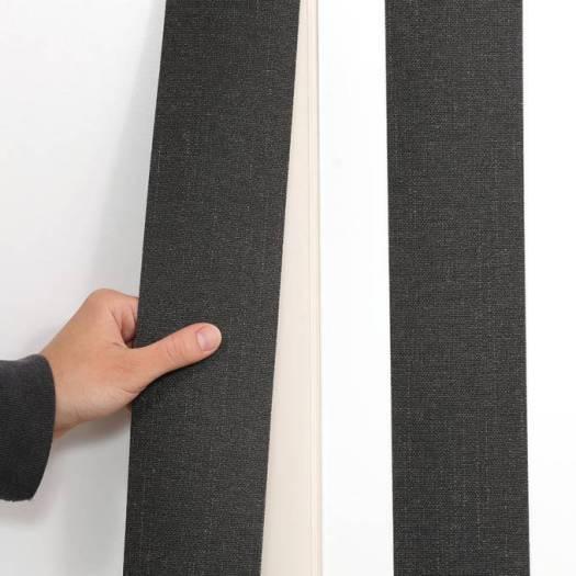 Stores verticaux en tissu décorateur de 3 1/2 po 7288