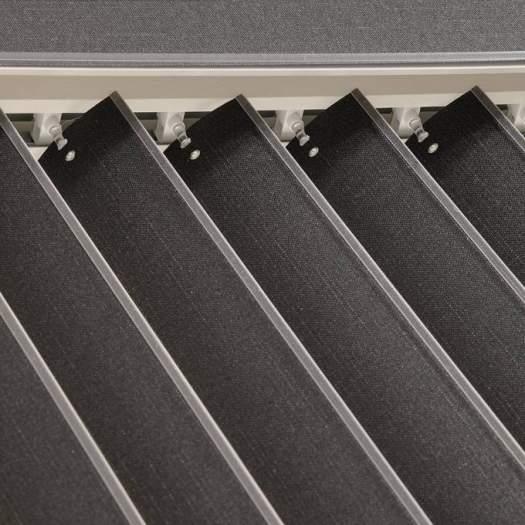 Stores verticaux en tissu décorateur de 3 1/2 po 7289