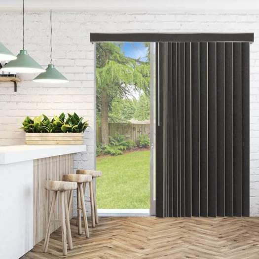 stores verticaux en tissu d corateur de 3 1 2 po. Black Bedroom Furniture Sets. Home Design Ideas