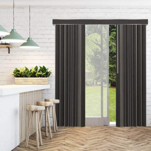 Stores verticaux en tissu décorateur de 3 1/2 po 4822