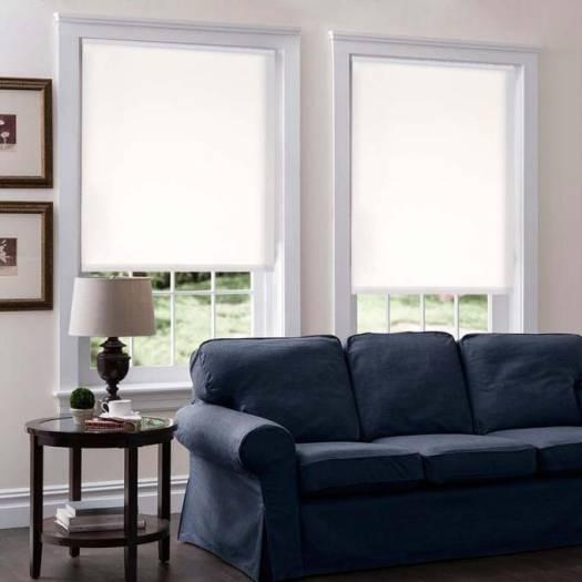 Toiles à rouleau sans cordon filtre de lumière en tissu 5072