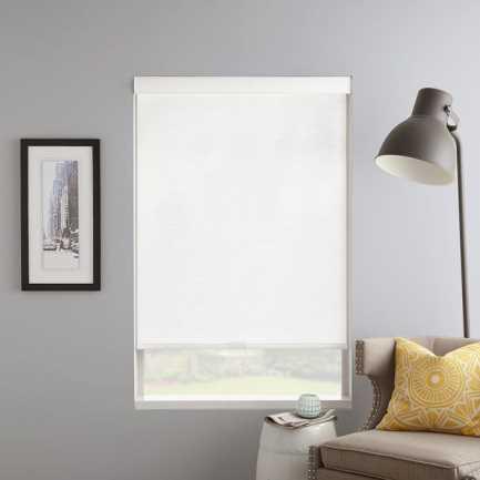 Toiles à rouleau filtre de lumière  en tissu signature décorateur (Good Housekeeping) 7036