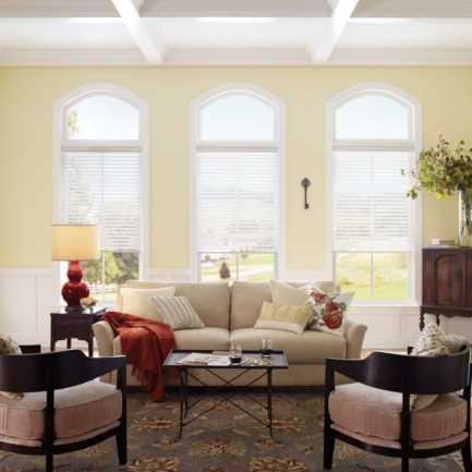 Toiles diaphanes en lin « filtres de lumière » Signature Décorateur (Good Housekeeping) de 2 po 5185