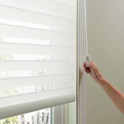 Toiles diaphanes en lin « filtres de lumière » Signature Décorateur (Good Housekeeping) de 2 po 5188