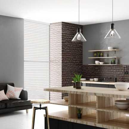 Toiles diaphanes horizontales 3 po de luxe à filtre de lumière 4151