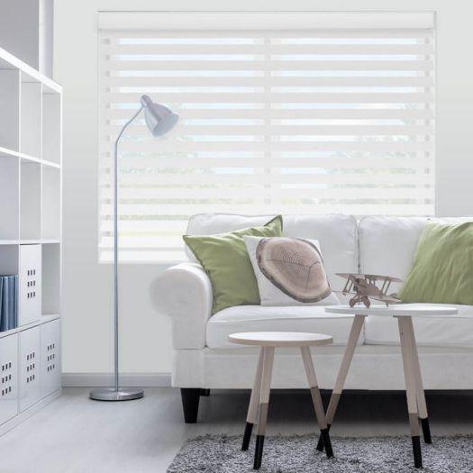 Toiles Diaphanes Horizontaux 3 po de luxe à Filtre de Lumière 4150
