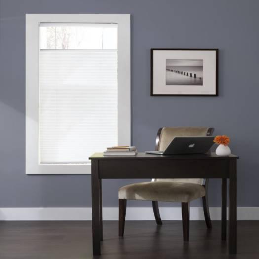 Toiles plissées descendant/ascendant sans cordon filtres de lumière Décorateur Plus 4430