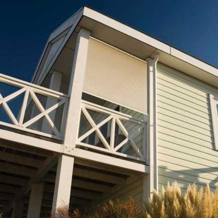 Toiles solaires extérieur translucides Coolaroo de Luxe 15 % 4480