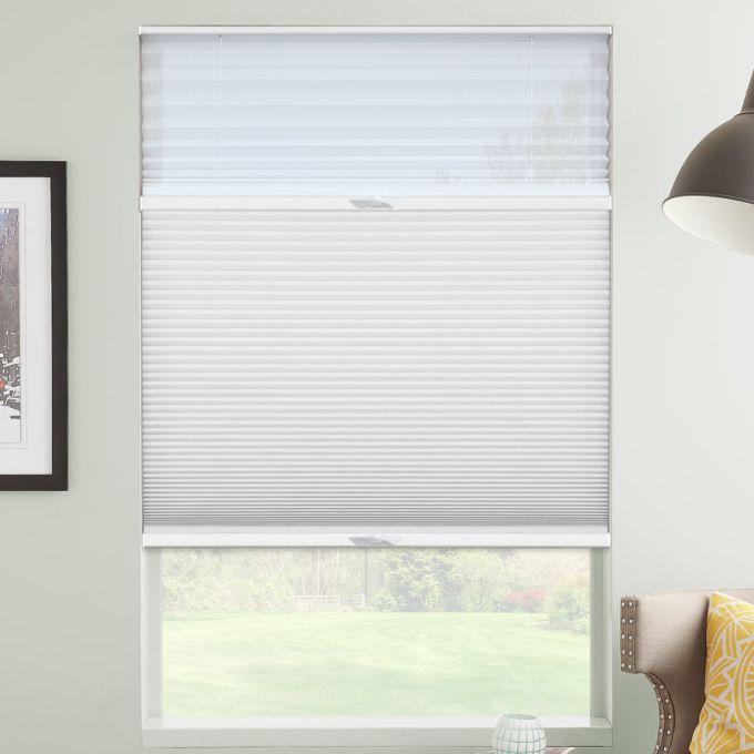 Tri-stores filtres de lumière à cellule double décorateur de 1/2 po