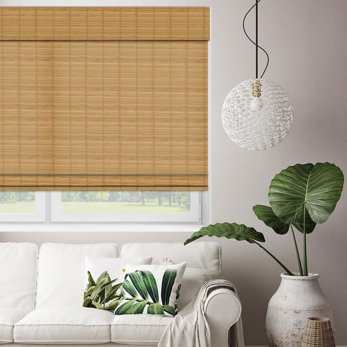 Value Cordless Woven Wood/Bamboo Shades 6823