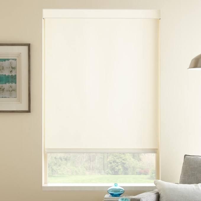 Value Light Filtering Fabric Roller Shades