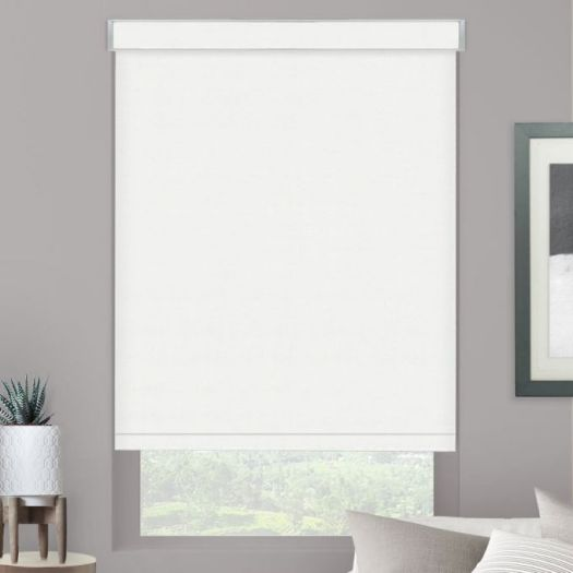 Value Vinyl Blackout Roller Shades 5875