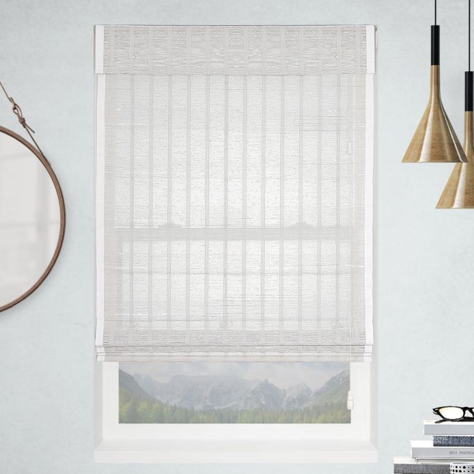 Veronica Valencia Coastal Woven Wood Shades
