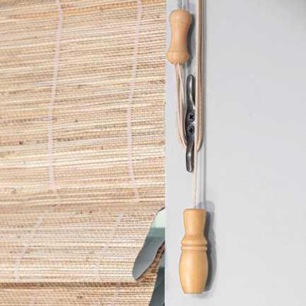 Stores en bambou/bois tissé Veronica Valencia Island 5937