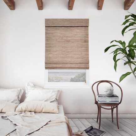 Stores en bambou/bois tissé Veronica Valencia Island 5935