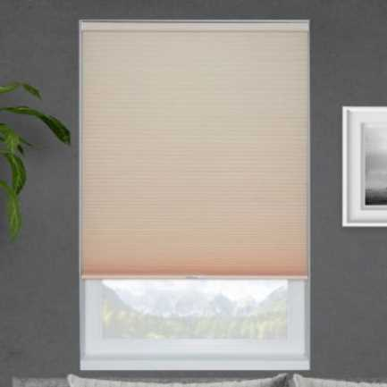 Veronica Valencia Light Filtering Honeycomb Shades