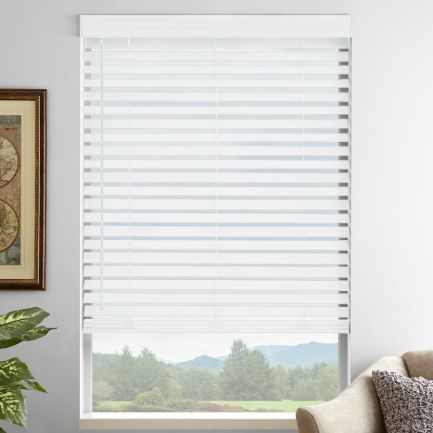 "2"" Premium Faux Wood Blinds"