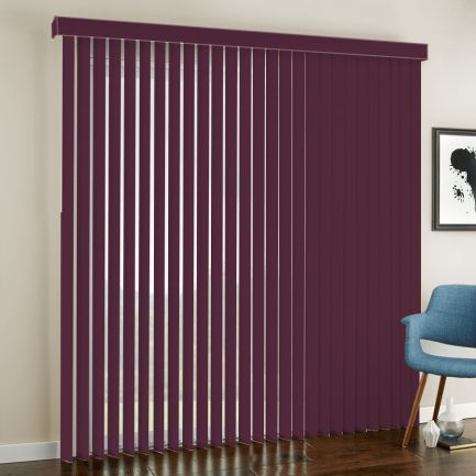 "3 1/2"" Premium Fabric Vertical Blinds"