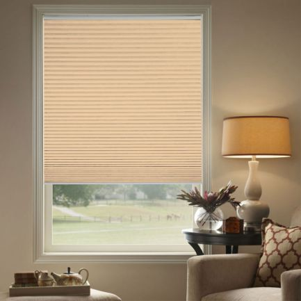 "3/4"" Single Cell (Carriann) Designer Signature Blackout Honeycomb Shades"