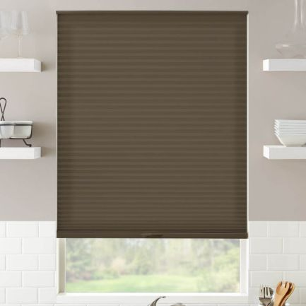 "3/4"" Single Cell Value Plus Light Filtering Honeycomb Shades"