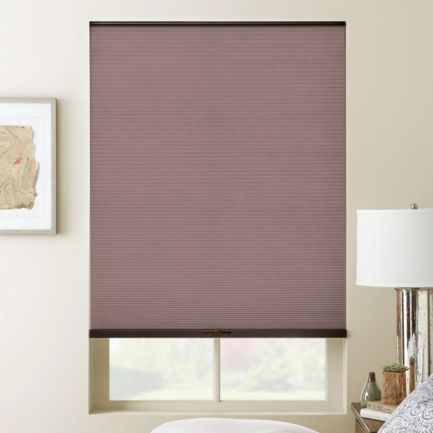 "3/8"" Double Cell (Carriann) Designer Signature Light Filtering Honeycomb Shades"