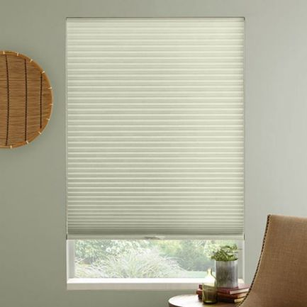 "3/8"" Single Cell Premium Light Filter Honeycomb Shades"
