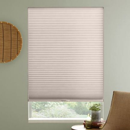 "3/8"" Single Cell Premium Light Filter Honeycomb Shades"