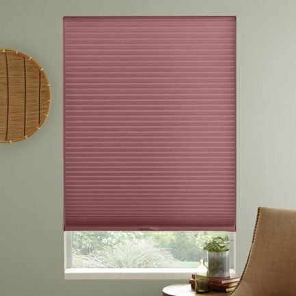 "3/8"" Single Cell Premium Light Filter Honeycomb Shades 1028"