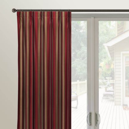 Designer Pleated Custom Made Drapes
