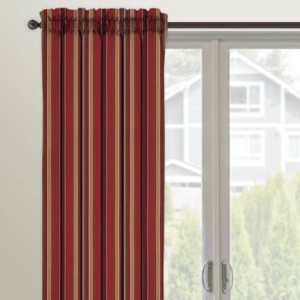 Designer Rod Pocket Custom Made Drapes