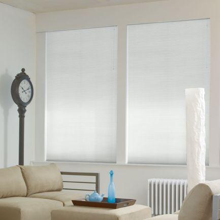 Stores cellulaires filtres de lumière à cellule double de luxe de 1/2 po