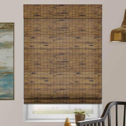 Stores en bambou/bois tissé de luxe
