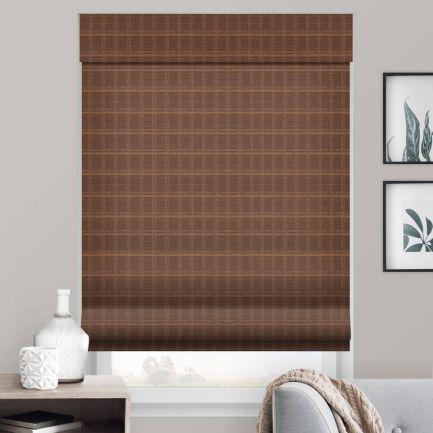 Stores en bois tissé/bambou sans cordon avantage