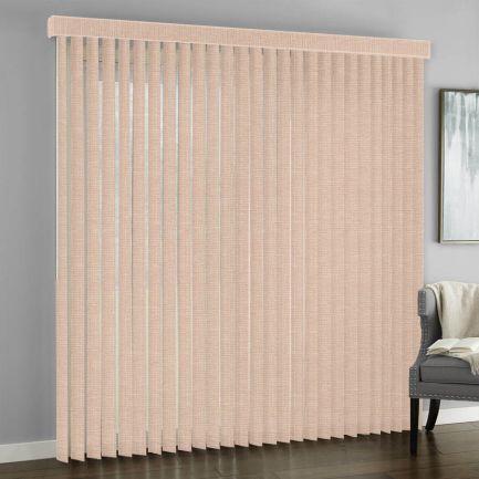 Stores verticaux en tissu décorateur de 3 1/2 po