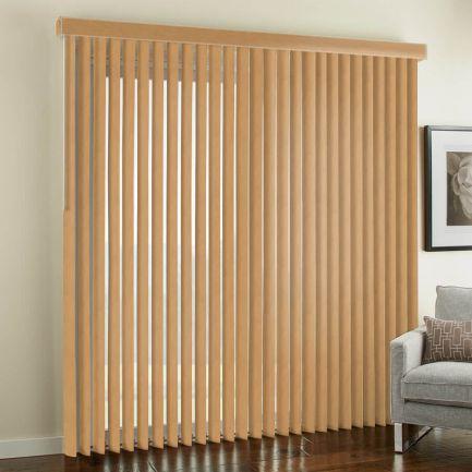 Stores verticaux imitation bois de luxe de 3 1/2 po