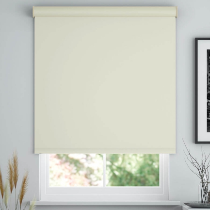 Super Value Vinyl Blackout Roller Shades