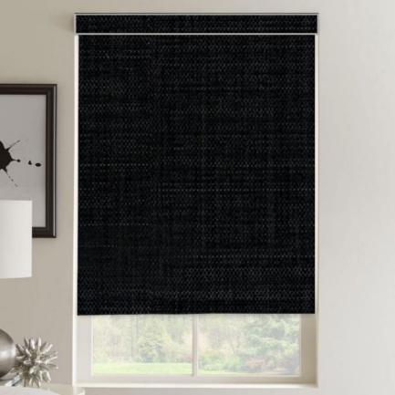 Toiles à rouleau noircissante en tissu de luxe