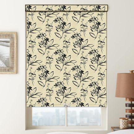 Toiles à rouleau obscurcissante en tissu signature décorateur (Good Housekeeping)