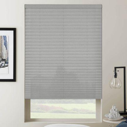 Toiles plissées sans cordon filtres de lumière avantage plus