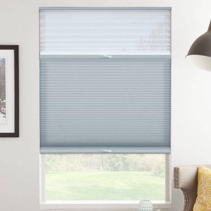 Tri-stores filtres de lumière à cellule simple décorateur de 3/4 po