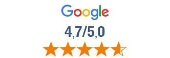 Évalué 4,8 sur 5 à partir de milliers d'avis Google
