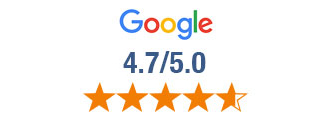 Rated 4.8 out of 5 from thousands of Google reviews