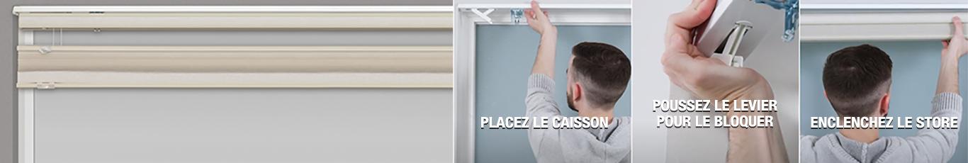 Achetez des stores sur mesure qui s'adapteront parfaitement à votre fenêtre
