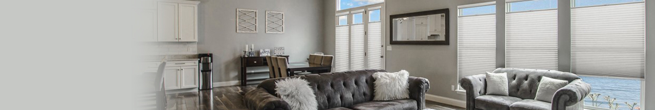 Buy custom living room shades for a perfect fit in your window